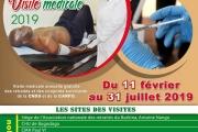 5ème édition de la visite médicale des pensionnés de la CARFO et de la CNSS