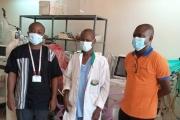 Les respirateurs offerts par la CARFO mis à la disposition de l'Hôpital Sanou Sourou de Bobo-Dioulasso