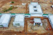 Centre gériatrique de Ouagadougou : la CARFO et les acteurs sur le chantier