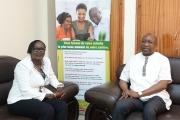 La Caisse Autonome de Retraite des Fonctionnaires (CARFO) reçoit une visite de la Caisse des dépôts et consignations du Burkina Faso (CDC-BF)